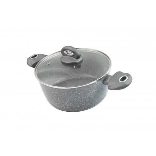 Puodas Mineral Grey  24 cm