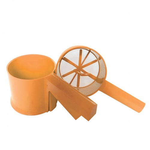 Sietelis plastmasinis 022 (oranžinis)
