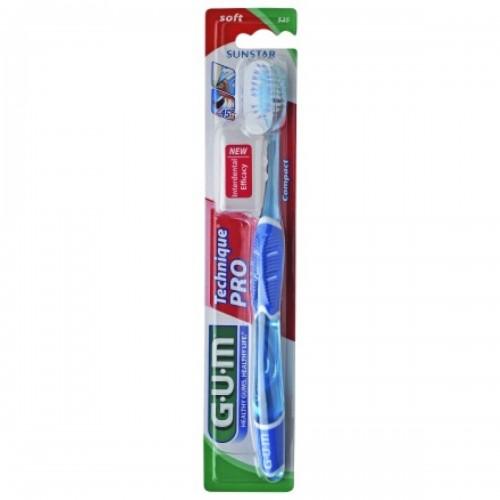 Dantų šepetėlis GUM® Technique®PRO Medium