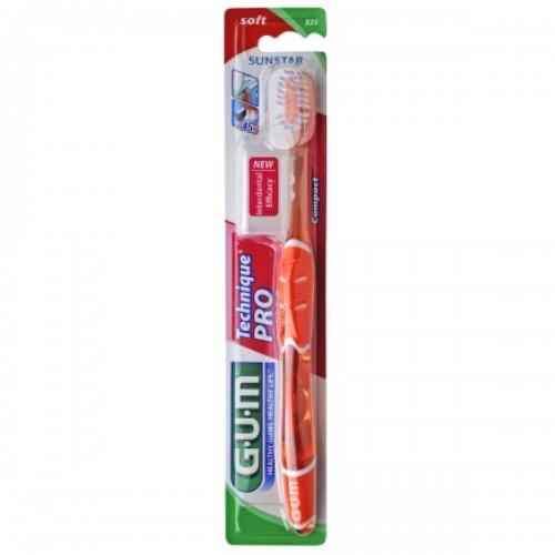 Dantų šepetėlis GUM® Technique®PRO Soft