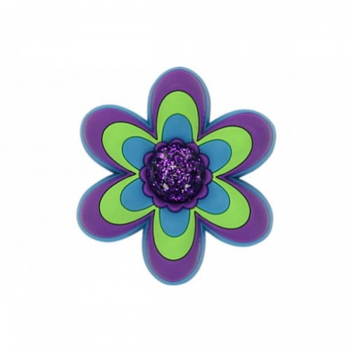 JIBBITZ CFP LG Purple Flower