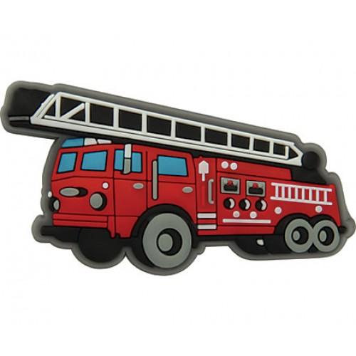 JIBBITZ Fire Truck Charm