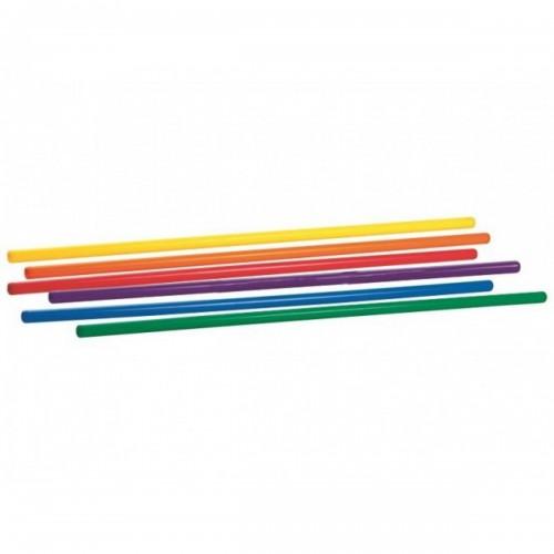 Plastikinė lazdelė mankštai, 70 cm