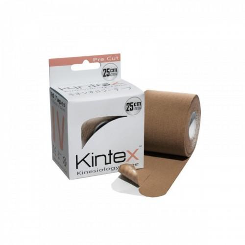 Kineziologinis teipas Kintex Pre Cut 20 vnt 25 cm x 5 cm. Kūno spalvos.