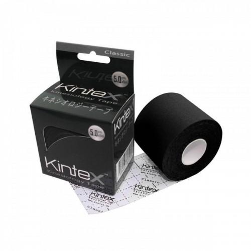 Kineziologinis teipas Kintex Classic Juodas 5cm x 5m