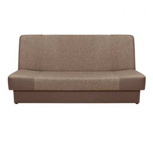 Sofa- lova (Dirbtinė oda + gobelenas)