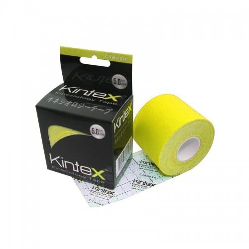 Kineziologinis teipas Kintex Classic Geltonas 5cm x 5m