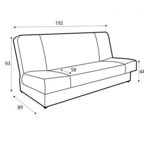 Sofa - lova Anita
